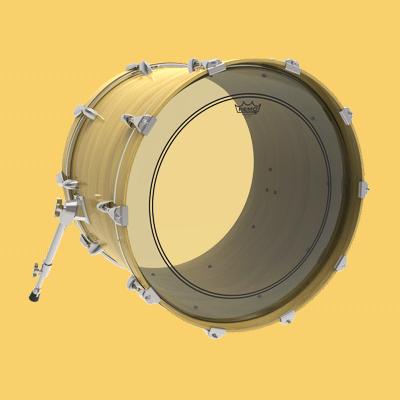 Remo Powerstroke 3 -bassrommun kalvot.