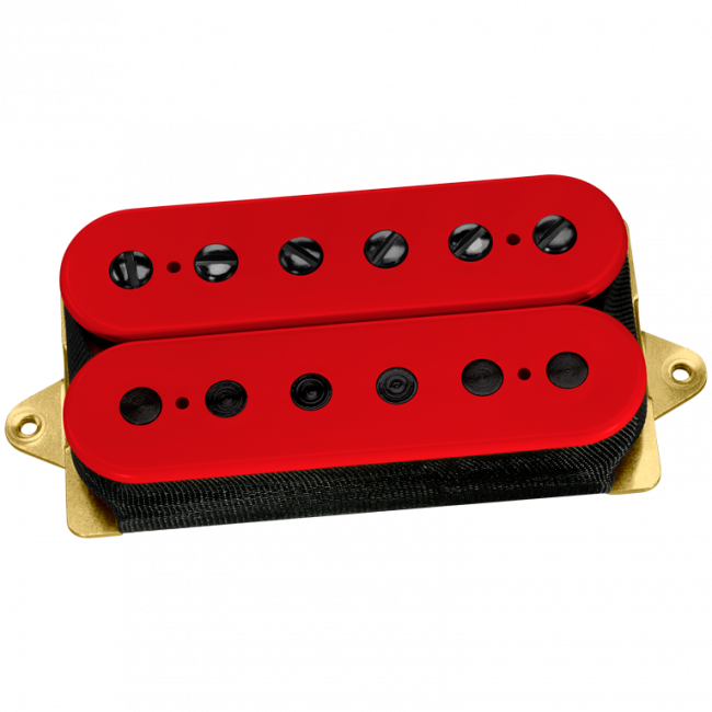 DiMarzio Custom Air Norton red, black polepieces