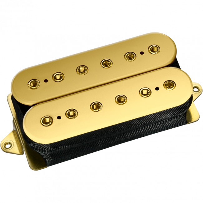 DiMarzio Custom FRED with gold top and gold poles