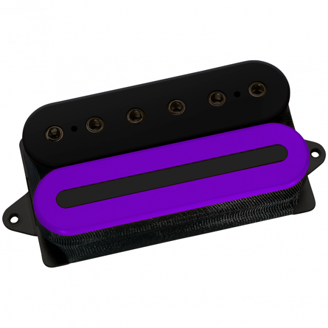 DiMarzio Custom Crunch Lab Black/purple with black polepieces