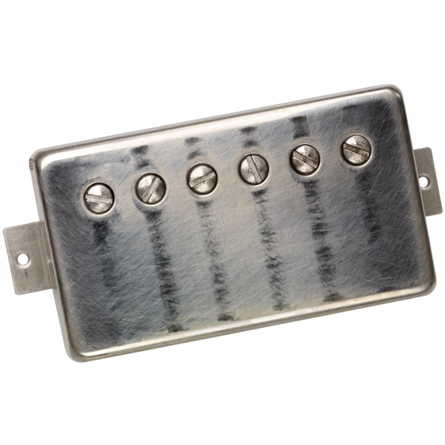 DiMarzio Custom PAF Master worn nickel cover