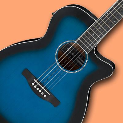 Ibanez AEG-kitarat kategoriakuvassa AEG7-kitara.