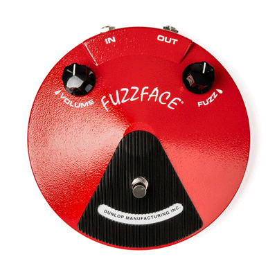 JDF2 Fuzz Face Distortion kitarapedaali.