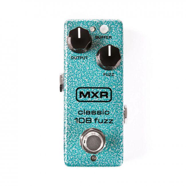 Mxr Classic 108 Fuzz Mini M296 kitarapedaali.