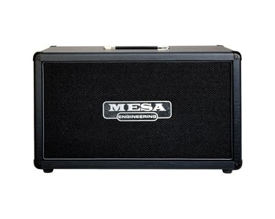 Mesa/Boogie Rectifier 2x12-kaappi mustalla tolexilla.