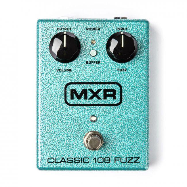M173 MXR Classi 108 Fuzz kitarapedaali.