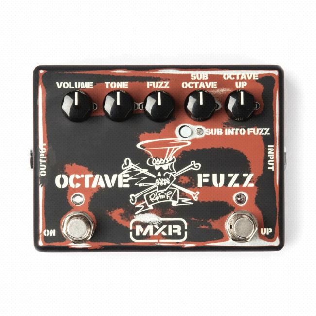MXR Slash Octave Fuzz SF01 kitarapedaali.