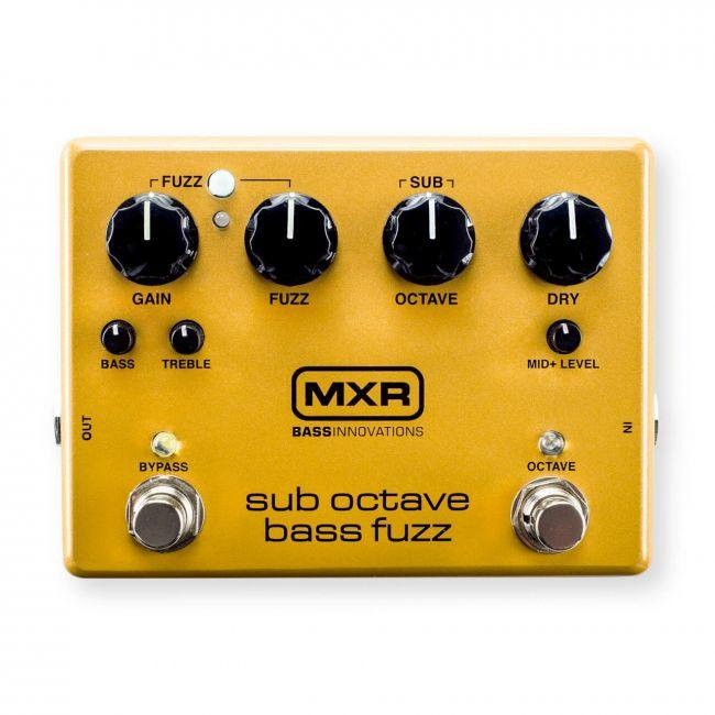 MXR Sub Octave Bass Fuzz bassopedaali M287.