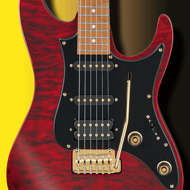 DiMarzio mikrofonit Scott LePagen SLM10-kitarassa.