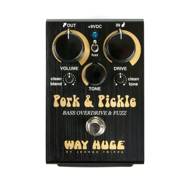 Way Huge Pork & Pickle Overdrive & Fuzz WHE214 bassopedaali.