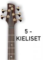 5-kielisen basson kielet