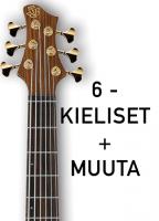 6+ -kielisten bassojen kielet