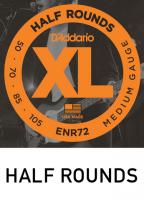 Half Rounds puolihiotut kielet