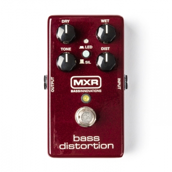 MXR M85 Bass Distortion -bassosärö