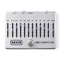 MXR M108S 10-band Graphic EQ