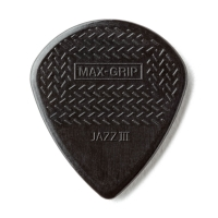 Dunlop Nylon Max Grip Jazz III musta