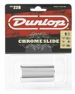 Dunlop 228 kromattu messinki slide medium