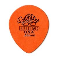 Dunlop Tortex Teardrop 0.60mm plektra.