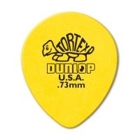 Dunlop Tortex Teardrop 0.73mm plektra.