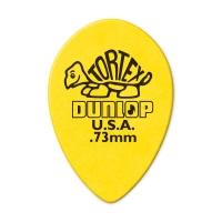 Dunlop Tortex Small Teardrop 0.73mm plektra.