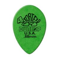 Dunlop Tortex Small Teardrop 0.88 plektra.