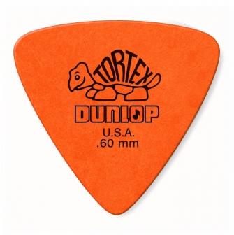 Dunlop Tortex Triangle .60mm plektra.