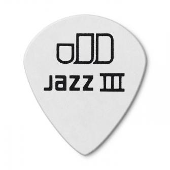 Dunlop 0,73mm Tortex Jazz III White