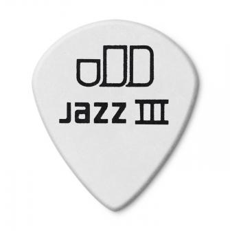 Dunlop 1,35mm Tortex Jazz III White