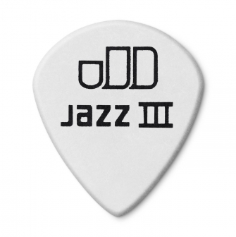 Dunlop 1,5mm Tortex Jazz III White