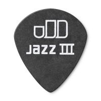 Dunlop Tortex Jazz III Pitch Black 0.50