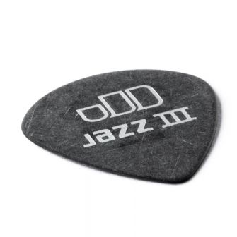 Dunlop Tortex Jazz III Pitch Black 0.60