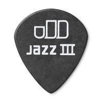 Dunlop Tortex Jazz III Pitch Black 1.0