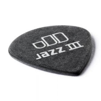 Dunlop Tortex Jazz III Pitch Black 1.0