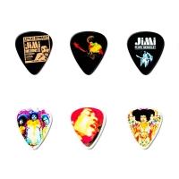 Dunlop Jimi Hendrix Bold As Love plektrat tinalaatikossa
