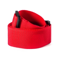 Dunlop Red Poly Strap