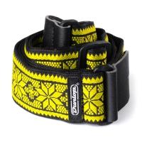 Dunlop Fillmore Yellow Jacquard kitarahihna