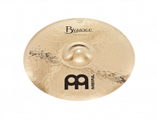 "Meinl 18"" Byzance Brilliant Heavy Hammered Crash"