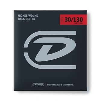 Dunlop Nickel Wound Bass 30-130