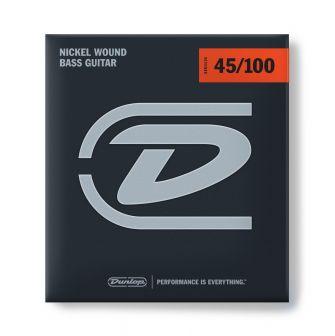 Dunlop Nickel Wound Bass 45-100 -bassokitaran kielet