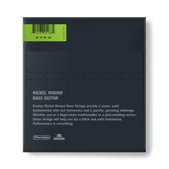 Dunlop Nickel Wound Bass 55-115