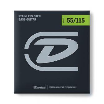 Dunlop Stainless Steel Bass 55-115