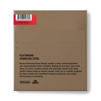 Dunlop Flatwound Medium Scale 45-105