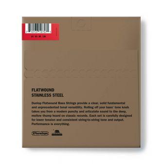 Dunlop Flatwound Medium Scale 45-105