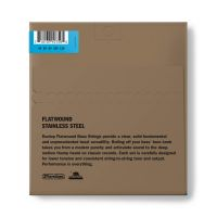 Dunlop Flatwound Medium Scale 45-125