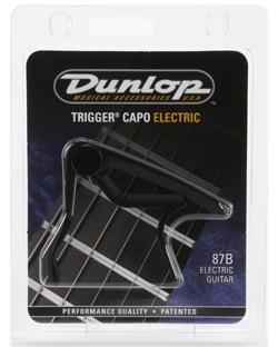Dunlop 87B Trigger capo musta
