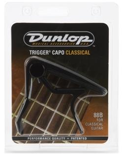 Dunlop 88B Trigger capo  musta