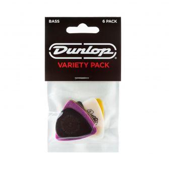 Dunlop 6kpl plektravalikoima bassokitaralle PVP117.