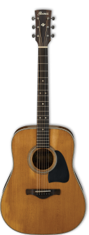 Ibanez AVD11-ANS Thermo Aged Artwood Vintage
