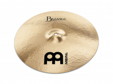 "Meinl 19"" Byzance Brilliant Medium Thin Crash"