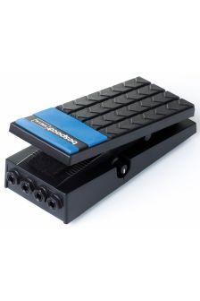 Bespeco volume-pedaali keyboardille, stereo.